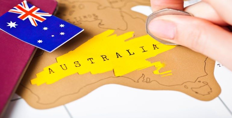How to get Australian pr from India